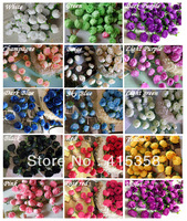 100PCS/lot  Silk Small Rose Decorative Flower Artificial Flowers for Party  wedding Wholesale 1.2'' DIY fake