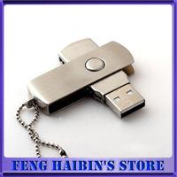 10pcs usb flash drive 256MB 4GB 8GB 16GB 32GB 64GB USB 2.0 Rotating Metal Flash Memory Stick U Disk Pen Drive