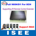 ISEE STYLE Full D1 Full 960H 8CH H.264 Real Time Standalone CCTV Security Network DVR With HDMI, Support Wireless IR Extender