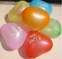Lots & 50 pcs love heart Circle Balloons Birthday Christmas Wedding Party Decoration wholesale
