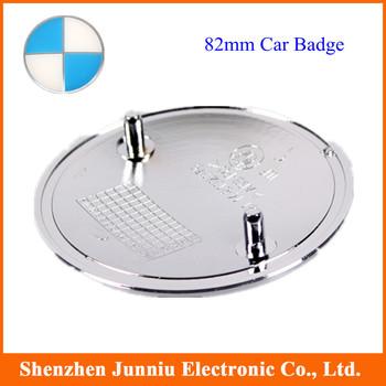 10 pcs/lot 82mm Blue & White Car Badge Emblem Free shipping