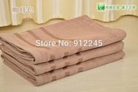 FREE SHIPPING 5 PCS Bamboo Fiber Beach Towel 70*140CM 380g Adult Bath Towel Natural & Eco-friendly Home Textile 3 Colors H0025