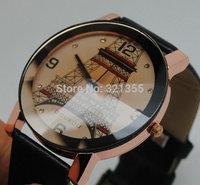 Free Shipping! (L) Original Brand Fashion Eiffel Tower Watch Women Ladies Dress Quartz Watches Relogio Feminino Wristwatches