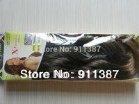 x-pression braiding hair x-pression braid hair curly synthetic hair extension- DANIRLA 1B-27# Free shipping