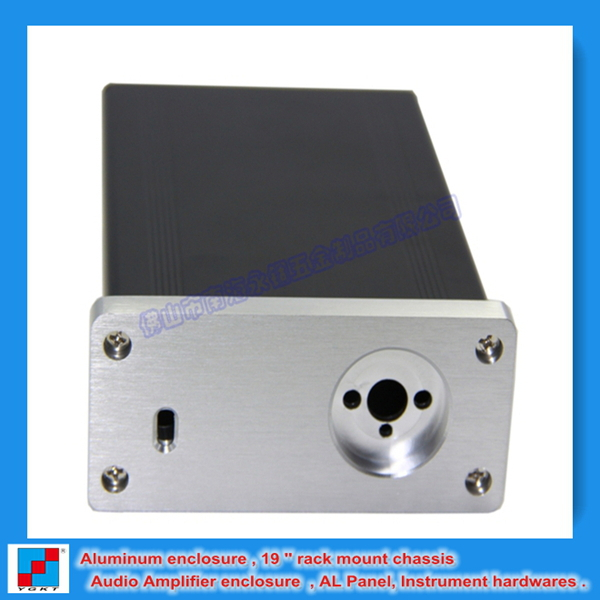 High Efficient Aluminum Extrusion Profile For Electronic Case 88*38-118 mm (wxhxl) Aluminium Chassis for audio DIY(China (Mainland))