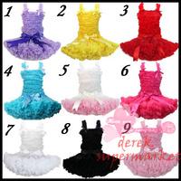 Chiffon top + skirt set,baby pettiskirt, tutu top, Girls Tutu Skirt FREE SHIPPING