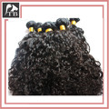 "Mixed length 3pcs top quality 100% human hair curly  brazilian hair extension 12""-28""  DHL fast free shipping"