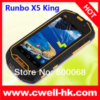 Runbo X5 King Military Grade MTK6577 Dual core IP67 Waterproof Android Mobile Phone with Walkie Talkie Runbo X5 Improved version