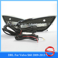 CAR-Specific VOLVO S60 2009-2013 Newest LED DRL,LED Daytime Running Light + Free Shipping By EMS