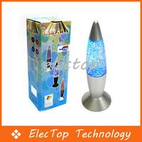 Free shipping USB Multi Color Changing Lava Lamp LED Glitter Light 10pcs/lot Wholesale
