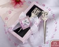 Free shipping 200box Chrome Love Letter Opener Wedding Gift WJ009/C@Shanghai Beter Gifts Co Ltd