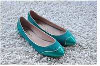 woman shoes fashion 2013 factory last new design high quality comfortable woman flat shoes