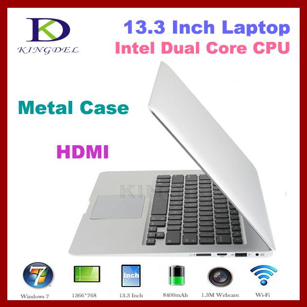 "13.3"" Ultra Thin Laptop Notebook, INTEL i3 3217U Dual Core CPU, 4GB RAM, 64GB SSD, Bluetooth, 8400Mah Battery, HDMI(Hong Kong)"