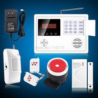 120 Zones Home Wireless Burglar Auto Dialer Voice PSTN Security Alarm System DIY Free Shipping