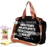 hot sale tote bag casual canvas big bag fashion ladies should bag handbag free shippment factory price
