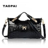 NEW 2014 ladies leather crocodile grain handbag,ms messenger bag,fashion bag,evening bag,hand bag,3color,envelope clutch