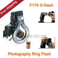 F170 O-flash Photography Ring Flash Macro Flash Light for Camera