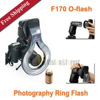F170 O-flash Photography Ring Flash Macro Flash Light for Canon 580EX / 580EXII Yongnuo YN560II / YN565