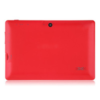DHL Free shipping Q88 7inch tablet pc front camrea Allwinner A13 1.5GHZ  android4.0 tablet pc 512M 4GB
