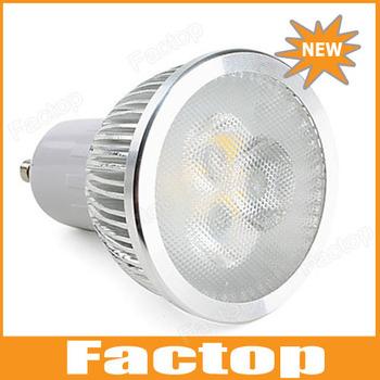 GU10 6W 550-600LM 5500-6500K Warm White/ Natural White Light Dimmable LED Spot Bulb 110V