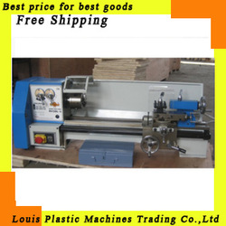 Free Shipping mini lathe Varible speed reaout lathe Micro lathe, metalworking machine(China (Mainland))