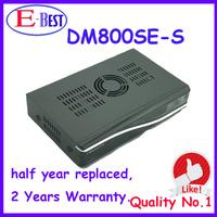 Fedex Free Shipping DM800se 400mhz CPU Satellite Receiver dm800hd se Bootloader84 SIM2.10 BCM4505 Tuner at stock
