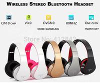 Universal Free Shipping 1pcs/lot  Wireless Mobile Bluetooth Headset Earphone Handsfree US Plug  for iphone4s,5 ,ipad