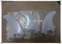 white Plastic/Nylon G5 surfbaord fin