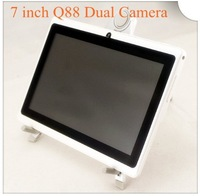 "7"" Capacitive Tablet PC A13 1.2 GHz Android 4.0 Dual Cameras Q88"