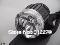 New 3800 Lumen 3x CREE XM-L T6 LED Headlight Headlamp Bicycle Bike Light Waterproof Climbing Headlamps Flashlight Free shipping
