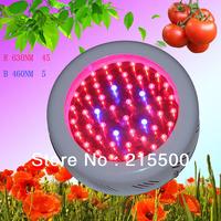 Free Shipping  UFO Led Grow Light 50W with 50*1W=50W(8:1),1W chip grow,3years warranty