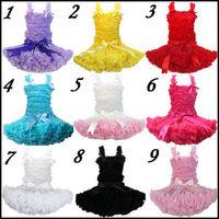 Free Shipping New Arrival children Pettiskirts Tutu skirt Girl's Pettiskirts a set =baby top + tutu