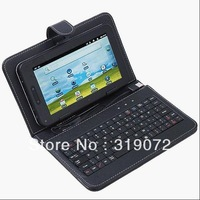 tablet pc keyboard case  with USB2.0/MINI usb/Micro port