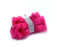 Bowknot,Rhinestone Evening Bag,Bridal Bag,Dress Bag,Party Bag,Day Clutch,Free Shipping