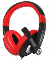 KOMC KM-8400 USB Headphone computer headset (Multimedia microphone) Free Shipp