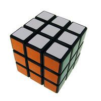 "Black Shenshou 3x3x3 Competitve Speed Spring Magic Cube Puzzle Game Intelligence Fancy Toy Gift 2.25"""