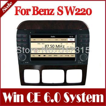 Car DVD Player GPS Navigation Navi for Mercedes Benz S W220 S280 S320 S350 S400 S430 S500 Car Stereo with Radio Bluetooth TV Map