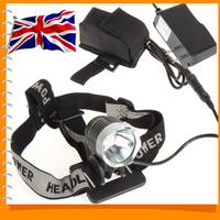 UK Warehouse! Sale! SecurityIng 1200 Lumen Z7 LED Front Bicycle Light Bike Head Lamp & LED Headlight Headlamp + Battery Pack