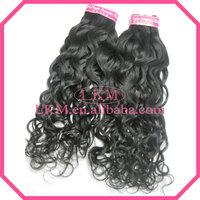 "LKM Hair Products Mix length 4Pcs/lot Grade 5A Virgin Peruvian Hair Water Wave 12""-30"" Peruvian Virgin Wavy Hair Free Shipping"
