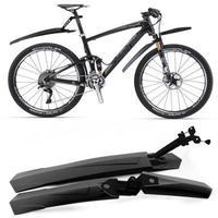 NEW Cycling Bicycle Bike Front / Rear Mud Guards Mudguard Set BLACK