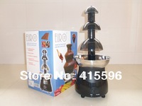 Tower Can Separate 55CM 3 Layers Commercial Chocolate Fountain Machine 3D Waterfall + Free Fedex Shipping