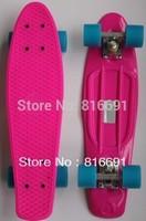 Free shipping 22 Penny Skate style board 2013 Nickel Cruiser plastic skateboard longboard