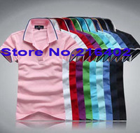 wholesale new man short cotton T-shirt,sweat  Photo Color sport T shirts Free shipping