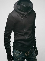 Assassin's Creed Naruto Desmond Miles Cosplay Costume Hoodie Coat Jacket - Size:M L XL XXL XXXL