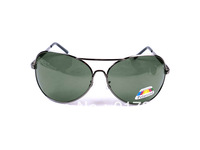 Men Polarized Fashion Sunglasses Metal Gungrey Sun Glasses Black And Mirror Lens 20pcs Lot Free Shipment