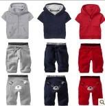 hot sell summer children brands bear  2pcs set shirt+pants sport clothes/kids sport  clothing suit  Free shipping