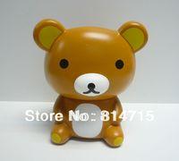 New Arrival Vinyl Bear Cartoon Money Box Saving Bank Bear money coin bank