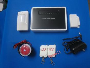 New Wireless Home Security Smart GSM Burglar Alarm System Loud Alarm Free Shipping Wholesale S913