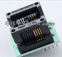 Free shipping,  SOP8 to DIP8 IC socket Programmer adapter Socket High Quality