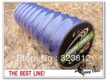 Wholesale - free shipping blue dyneema braided fishing line fishing tackle 1000M 8LB 10LB15LB20LB30LB40LB50LB65LB80LB